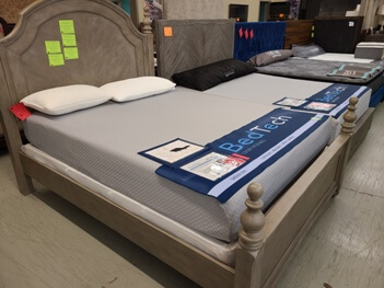 BedTech 10-Inch Gel-Infused Memory Foam Full Mattress