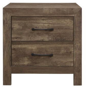 Homelegance Corbin Wood-Look 2-Drawer Nightstand