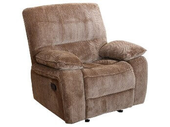 New Classic Ranger Light Brown Tweed Gliding Recliner