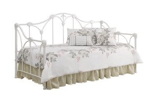 Coaster White Scrolling Iron Day Bed