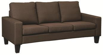 Coaster Bachman Chocolate Brown Fabric Sofa