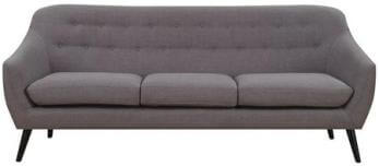 Coaster Grey Sofa with Tufted Accents