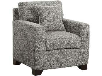 Coaster Grey Sunburst Accent Chair