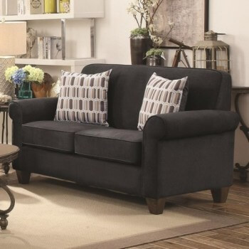 Coaster Gideon Graphite Loveseat