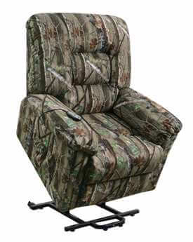 Coaster Power Recliner/Lift Chair in Camouflage