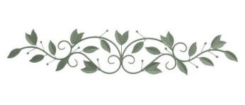 Three Hands Metal Scrolling Foliage Wall Art