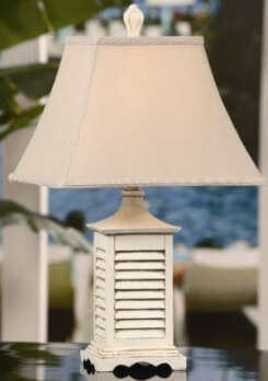 Crestview Seaside Accent Table Lamp