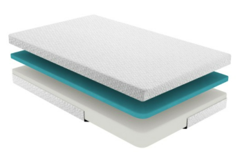 Homelegance 6-Inch Gel-Infused Memory Foam Twin Mattress