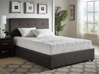 Homelegance 10-Inch Gel-Infused Memory Foam King Mattress