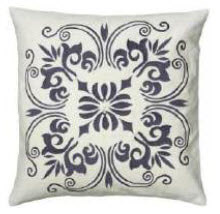 Rizzy White & Charcoal Decorative Throw Pillows (set of 2)
