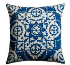 Rizzy Blue & White Decorative Throw Pillows (set of 2)