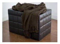 Rizzy Chocolate Throw Blanket