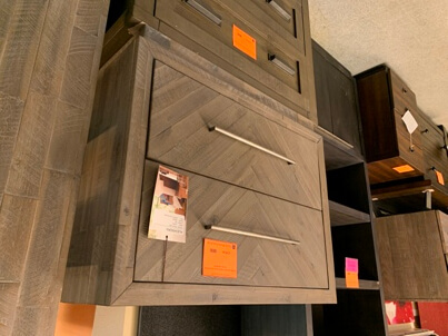 Modus Alexandra Rustic Latte Lateral File Cabinet