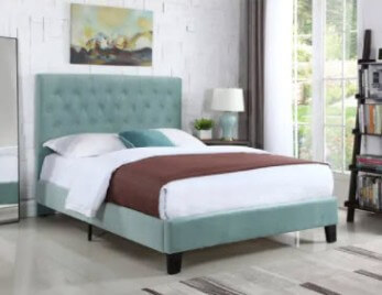 Emerald Amelia Light Blue Full Bed