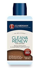 Guardsman Clean & Renew Leather Cleaner