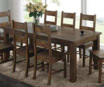 Coaster Coleman Hardwood Dining Table