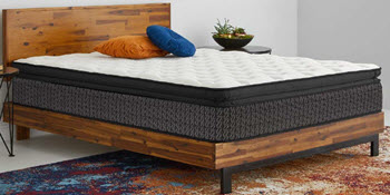 Corsicana Copper-Infused Plush Pillow Top Queen Mattress