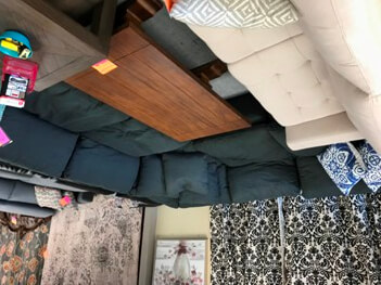 Ashley Delilah 5-Piece Sectional with Down-Wrapped Cushions