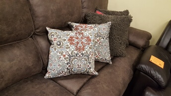 Coaster Tapestry Earth Tones Throw Pillows (set of 2)
