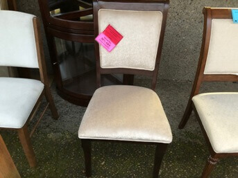 Coaster Elegant Ivory Side Chair