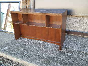 New Classic West Hills Maple Finish Bookcase Hutch Top