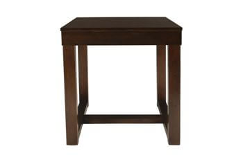 New Classic McCoy Sable Finish End Table