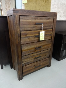 Modus Meadow Rosewood 5-Drawer Chest