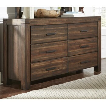 Modus Meadow Rosewood 6-Drawer Dresser