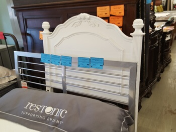 New Classic Megan Twin Headboard with Carved Accents