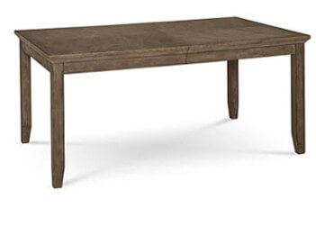 Home Meridian Mesa Rectangular Dining Table with Leaf
