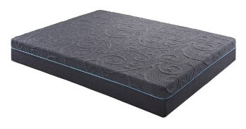 Homelegance 11-Inch Gel-Infused Memory Foam Hybrid Split Cal King Mattress