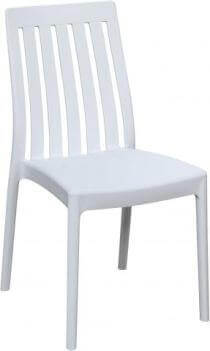 Emerald Odyssey White Outdoor Chairs (set of 2)