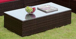 Furniture of America Zendaya Outdoor Coffee Table