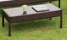 Furniture of America Makenna Outdoor Coffee Table
