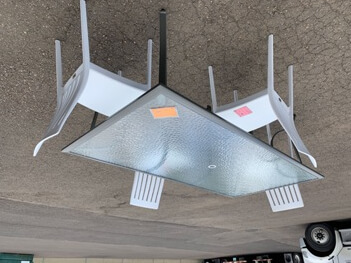 Casual Living Reyna Outdoor Dining Table with Glass Top