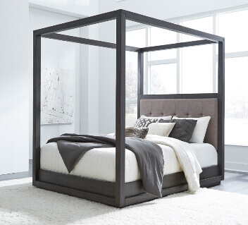 Modus Oxford Queen Canopy Platform Bed