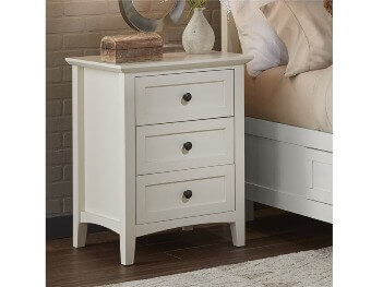 Modus Paragon White 2-Drawer Nightstand
