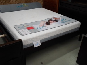 Modus Simple Espresso Finish King Bed