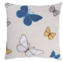 Rizzy Butterfly Throw Pillows (set of 2)