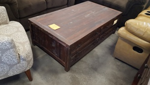 Modus Townsend Distressed Java Finish Coffee Table