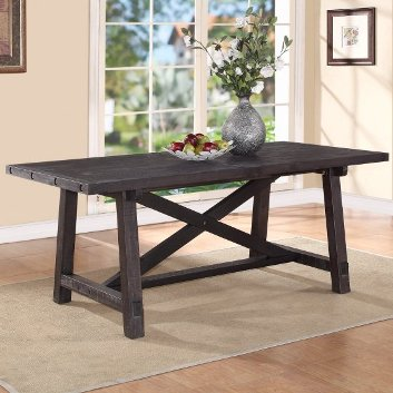 Modus Yosemite Café Rectangular Dining Table with Leaf