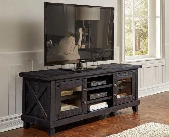 Modus Yosemite Cafe TV Stand with Glass Doors