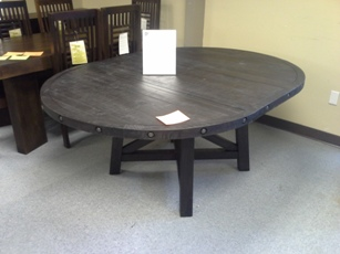 Modus Yosemite Round Dining Table With Leaf