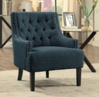 Homelegance Indigo Accent Chair